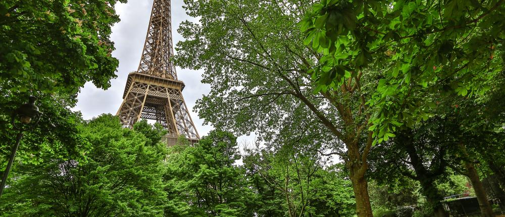 Prenez le vert dans les jardins de Paris